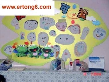 幼儿园小班环境布置-我真可爱幼儿园教室布置