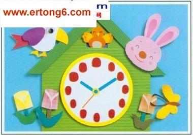 布谷鸟时钟-幼儿园大班教师墙面布置图幼儿园教室