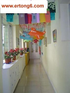 幼儿园小班环境布置-走廊吊饰