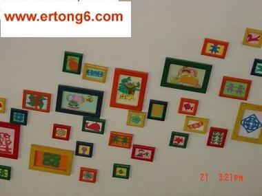 幼儿园展示墙-幼儿作品