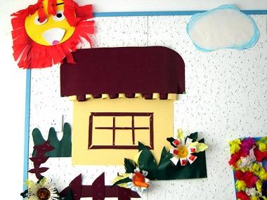 春季主题-立体墙饰幼儿园环境布置