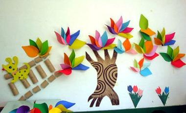 吊饰,幼儿园环境创设总结