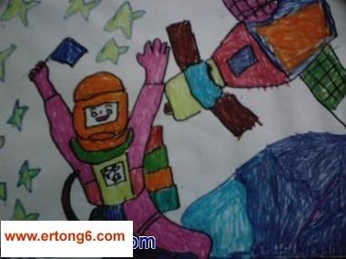 大班绘画  华泰幼儿园抓住最真实
