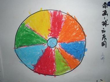 幼儿园中班简笔画雨伞