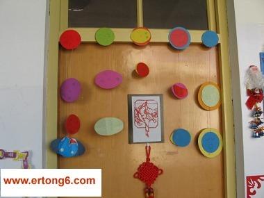 幼儿园门框装饰图