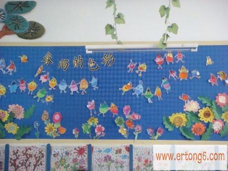 春天主题装饰:春雨的色彩