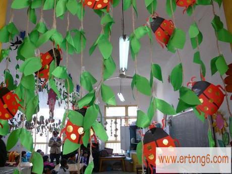 教室布置:七星瓢虫_幼儿园主题墙布置