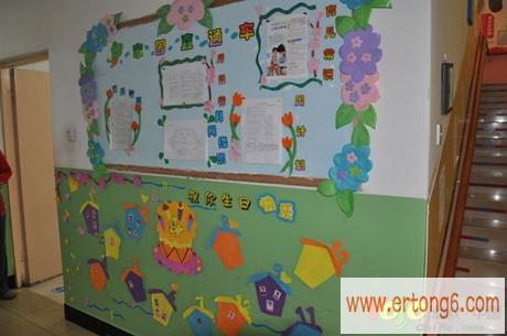 幼儿园室外环境布置图片_幼儿园室外设计_童秀网