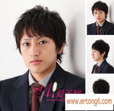 20xx年流行的职场男士发型