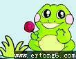 青蛙打哈哈